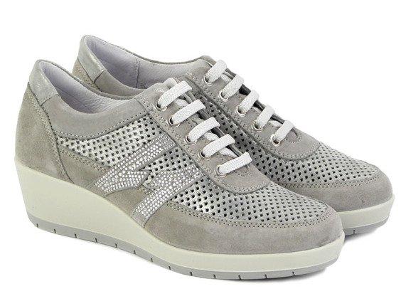 bed1830665d35 Sneakersy Igi&co 57651/00 szary || srebrny | ONA \ OBUWIE \ Półbuty ...