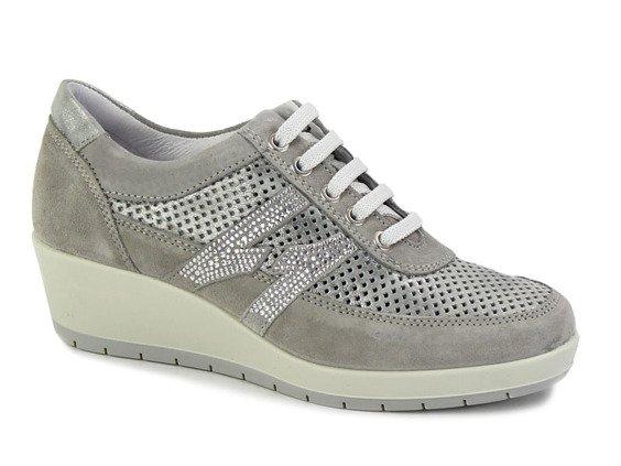 3281852ae3c04 Sneakersy Igi&co 57651/00 szary || srebrny | ONA \ OBUWIE \ Półbuty ...